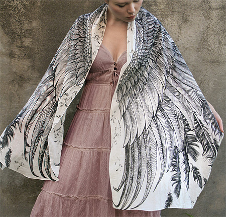 Scarves with Wings