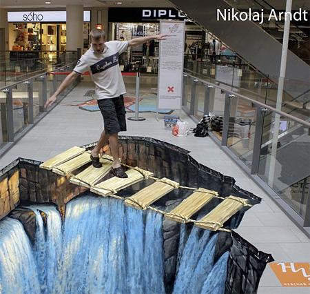 Nikolaj Arndt 3D Street Art