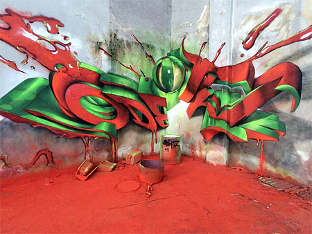 Graffiti by Odeith