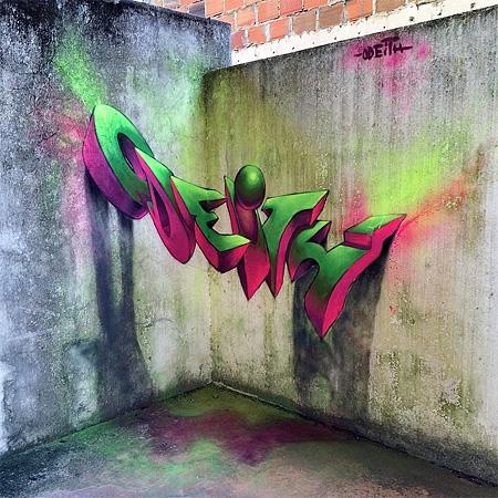 Odeith 3D Graffiti
