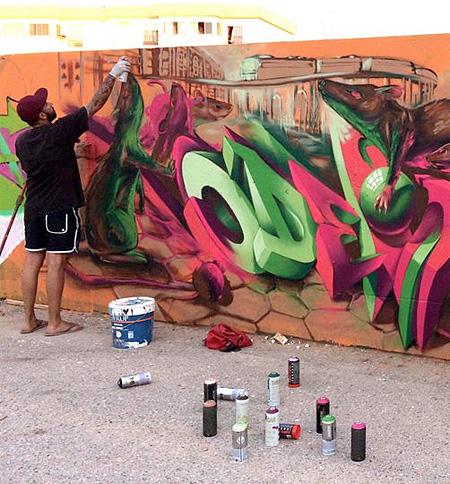Street Artist Odeith