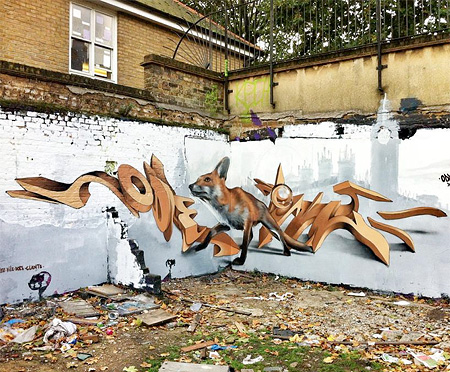 Odeith Anamorphic Street Art