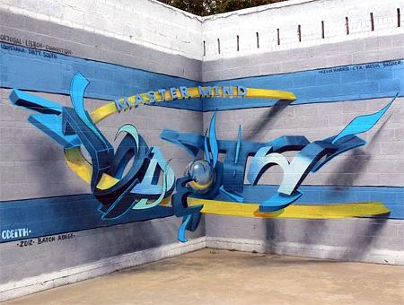 Odeith Anamorphic Graffiti