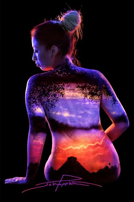 Body Paintings by John Poppleton