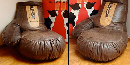 Boxing Glove Bean Bag
