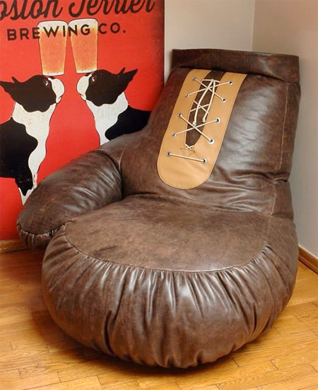 Boxing Glove Chair