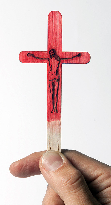 Crucifixion Popsicle