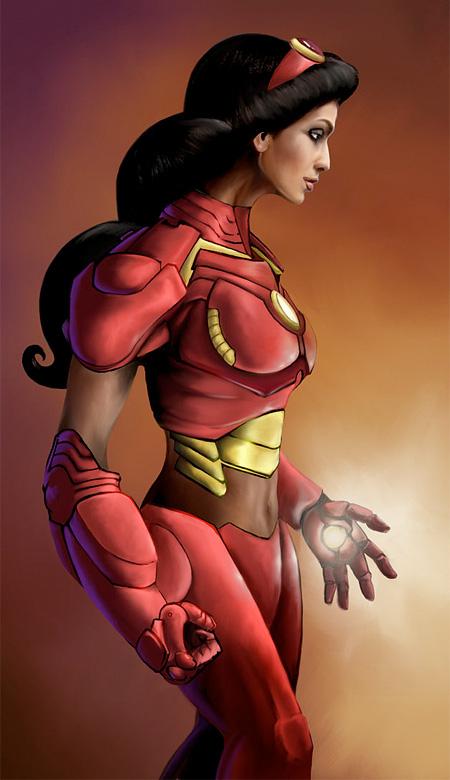 Jasmine Iron Man