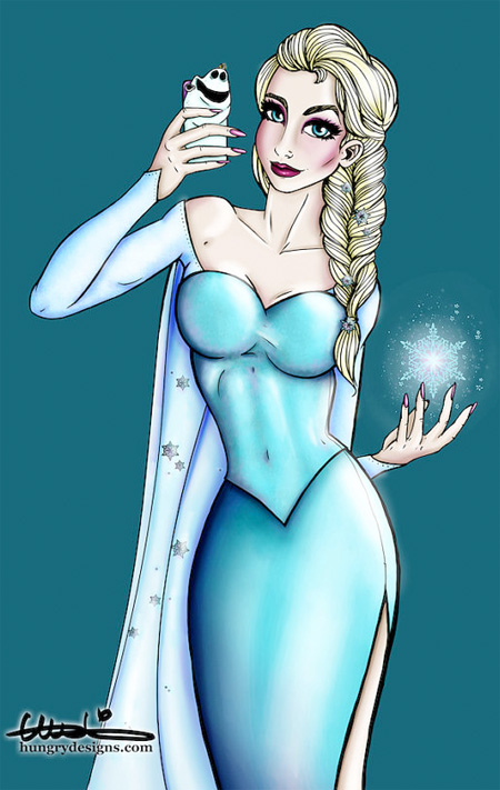 Elsa Selfie