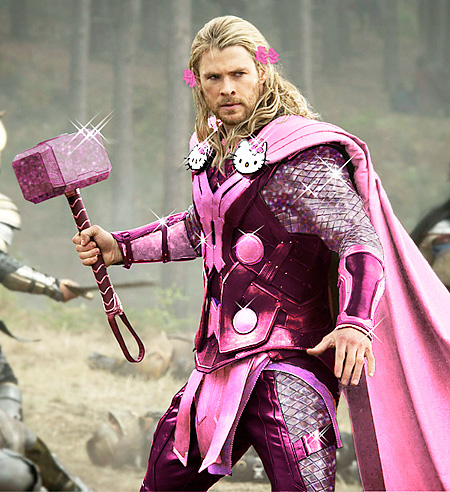 Hello Kitty Thor