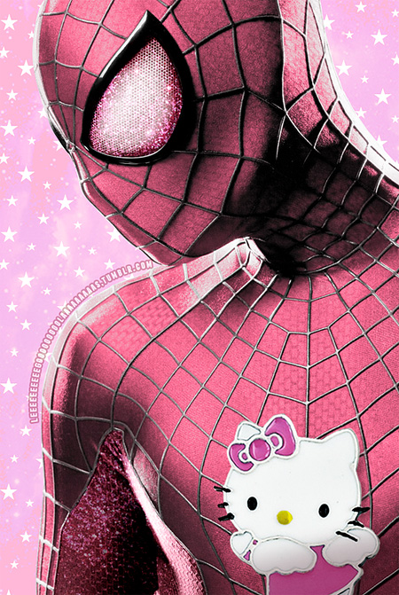 Hello Kitty Spider-Man