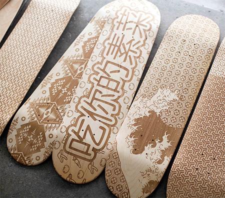 Magnetic Kitchen Skateboards