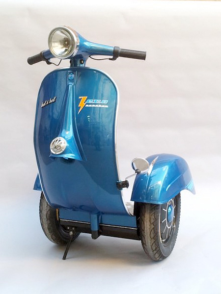 Bel and Bel Vespa Segway