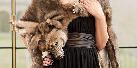Werewolf Fur Wrap