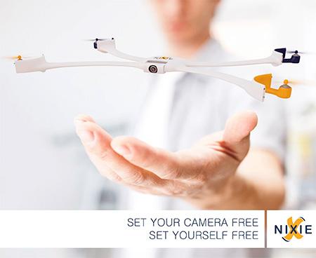 Wearable Drone