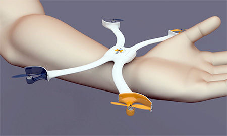 Wearable Quadcopter