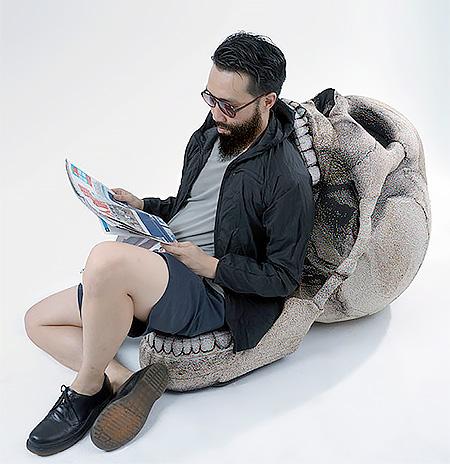 Skull Shaped Chair