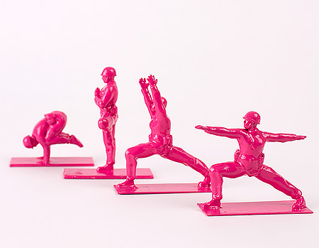 Yoga Toy Soldiers