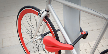 Bicycle Saddle Lock