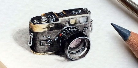 Miniature Paintings by Lorraine Loots