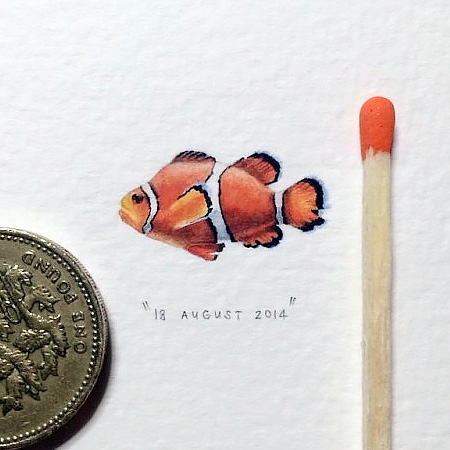 Tiny Paintings by Lorraine Loots