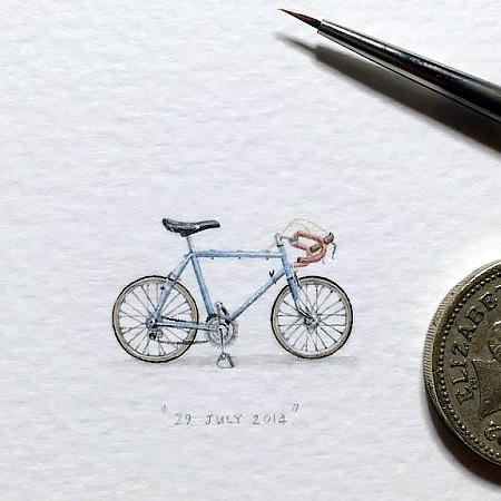 Micro Art by Lorraine Loots
