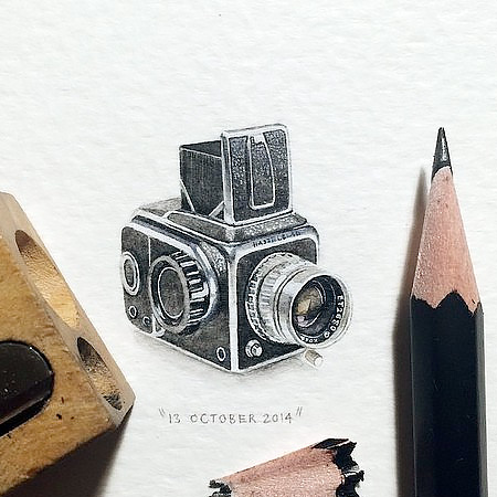Micro Artworks by Lorraine Loots