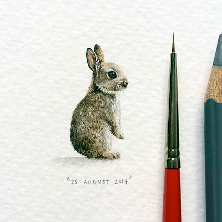 Tiny Artworks by Lorraine Loots