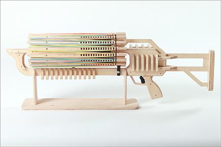 Rubber Band Machine Gun By Alex Shpetniy