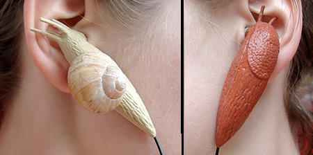 Slug and Snail Earphones