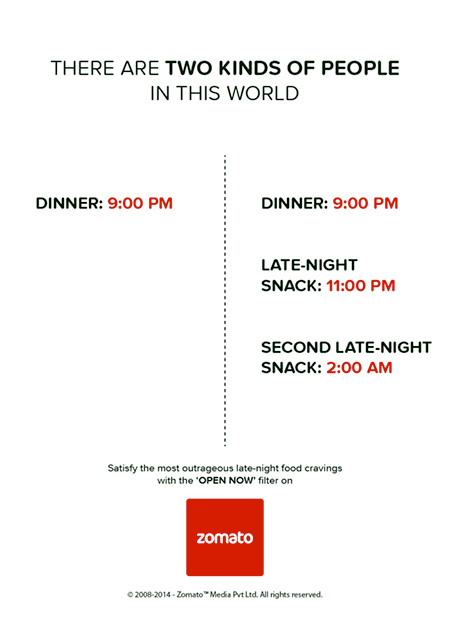 Zomato Kinds