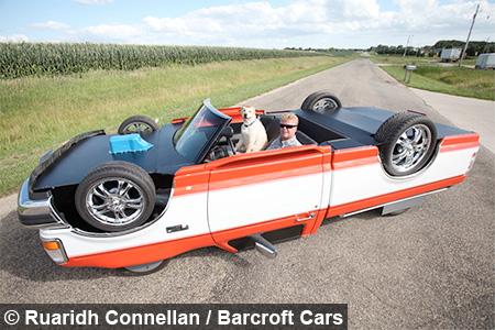 Drivable Upside Down Car