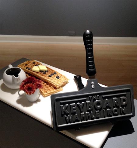 Chris Dimino Keyboard Waffle Iron