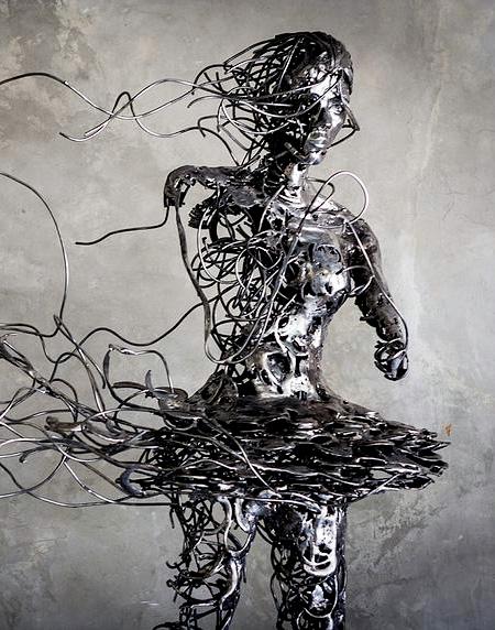 Regardt van der Meueln Escultura de la bailarina