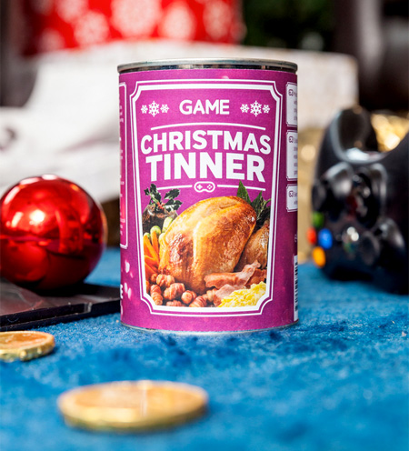 Christmas Dinner In A Can.Christmas Dinner In A Can