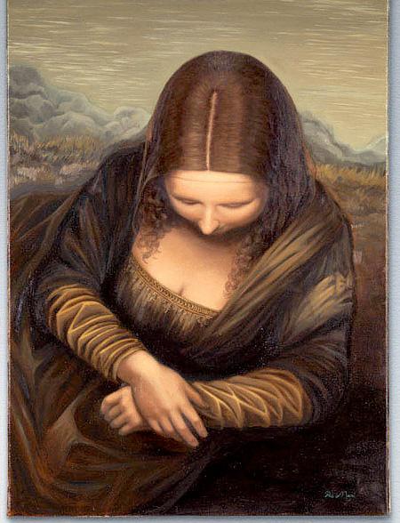 Head and Shoulders Mona Lisa