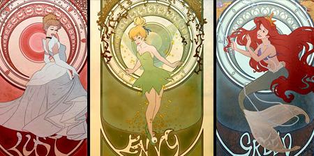 Disney S Seven Deadly Sins