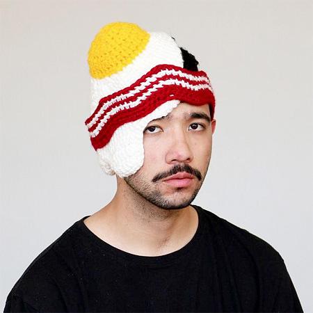 Crocheted Food Hats