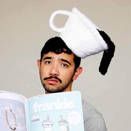 Knitted Food Hat