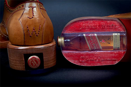 Johnnie Walker Whisky Shoes