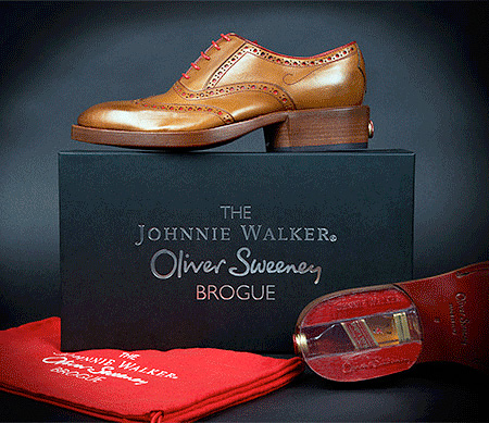 Johnnie Walker Whiskey Shoes