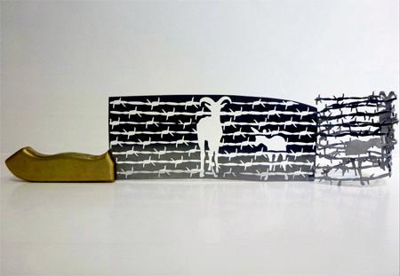 Knife Sculptures