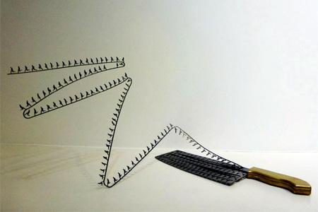 Knife Sculpture