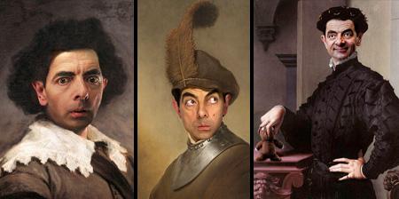 Mr Bean in Classic Paintings