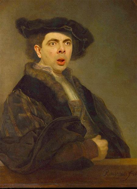 Rowan Atkinson in Classic Paintings