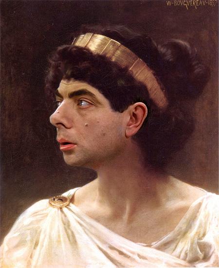 Rowan Atkinson in Famous Paintings