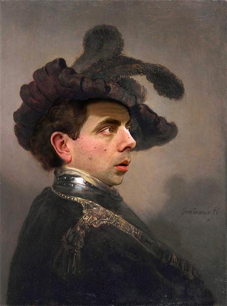 Mr Bean in Paintings