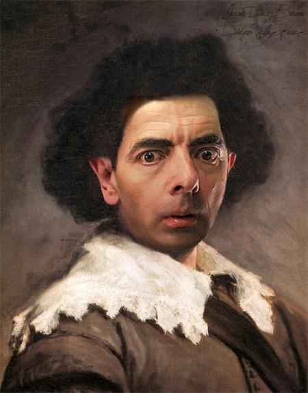 Rowan Atkinson in Paintings