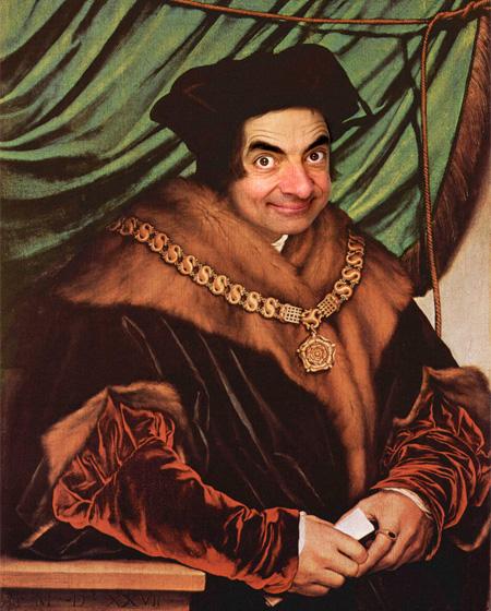 Mr Bean Paintings