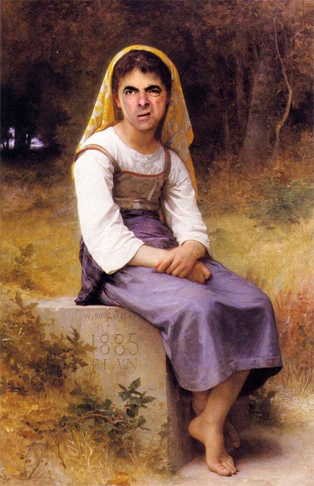 Rowan Atkinson Paintings